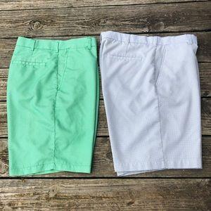 PGA Tour mens golf shorts bundle wicking material